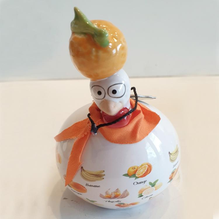 J-line kip klein Sinaasappel Fruit