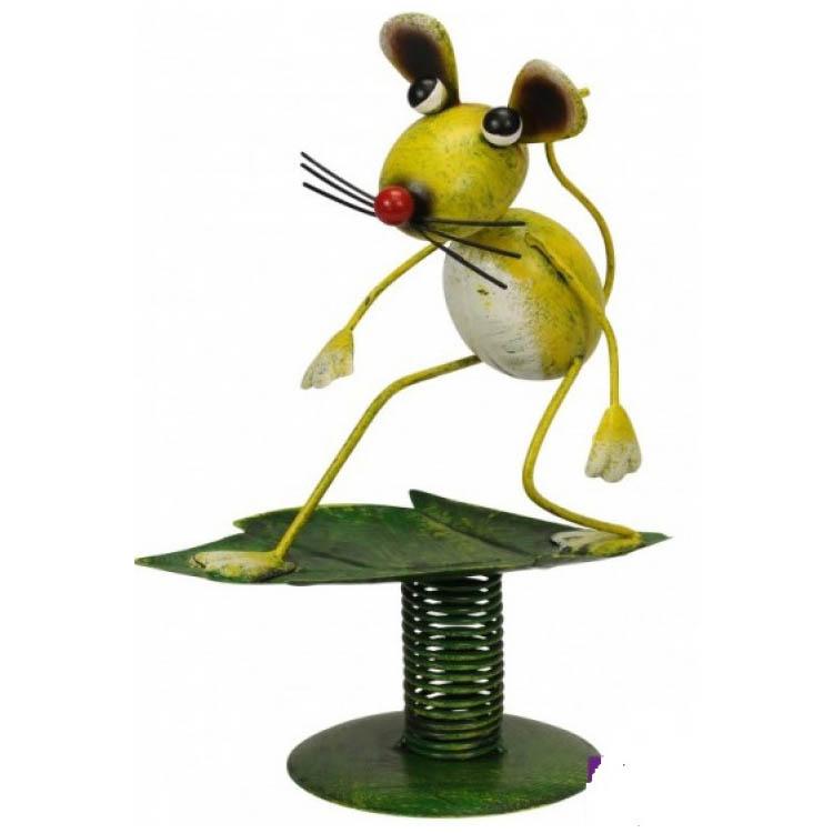 Surfende muis