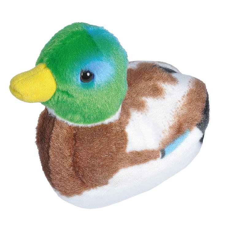 Wilde Eend / Mallard Duck – Pluche vogel met geluid