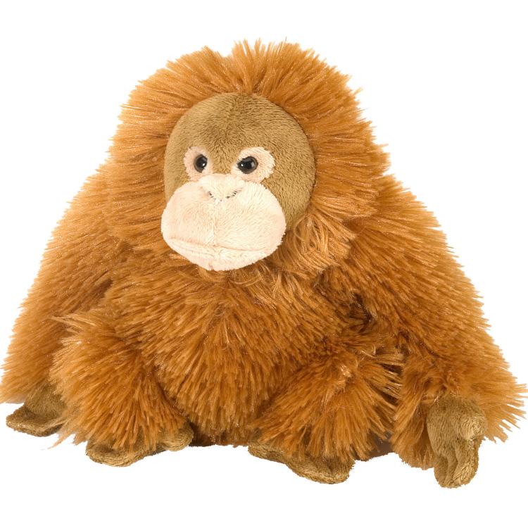 Zachte knuffel Orang Oetan vrouwtje
