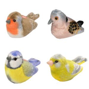Vogels met geluid